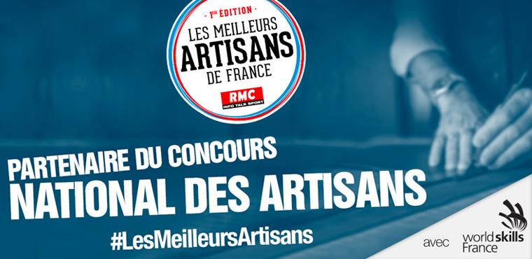 """Première édition du concours """"Meilleurs artisans de France"""""""