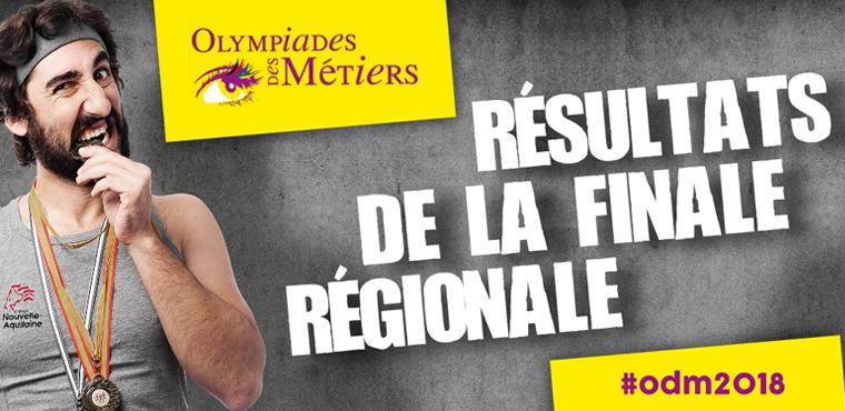 Olympiades 2018 : 27 médailles pour les apprentis de l'artisanat en Nouvelle-Aquitaine