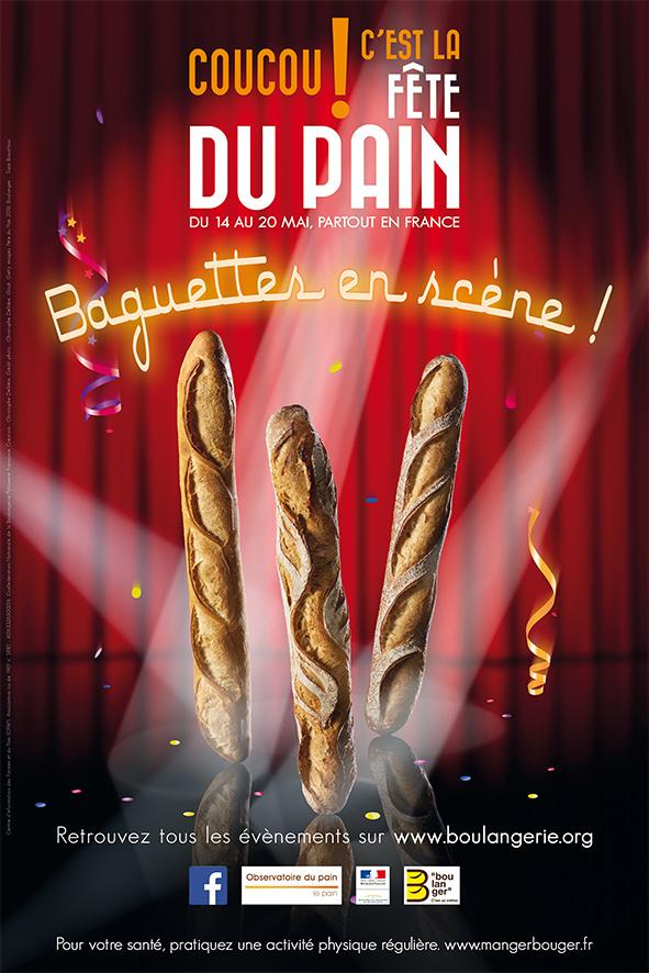 La Fête du Pain 2018 aura lieu, partout en France, du lundi 14 au dimanche 20 mai