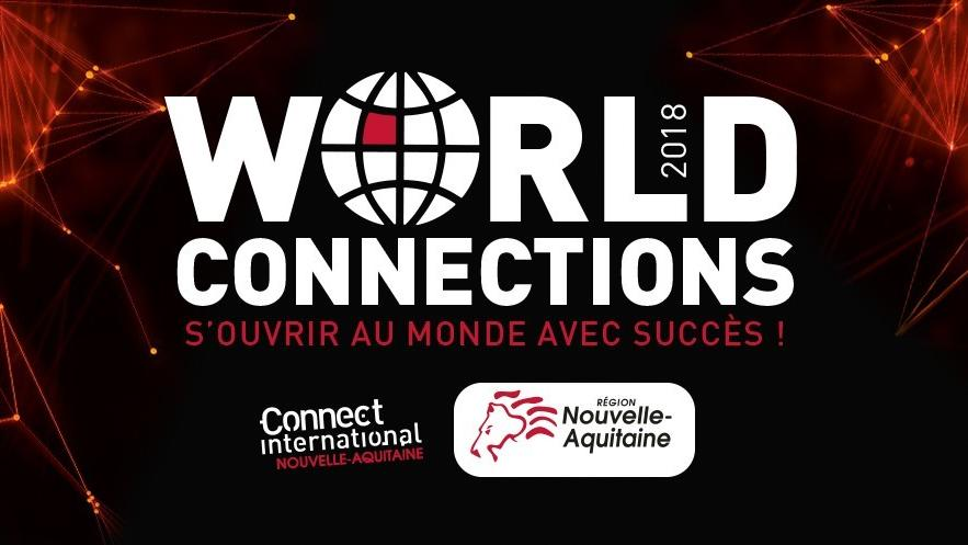 Export : participez aux World Connections 2018 en Nouvelle-Aquitaine
