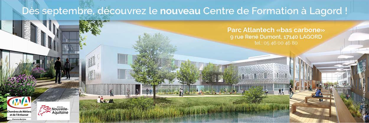 Notre nouveau Centre de Formation à Lagord
