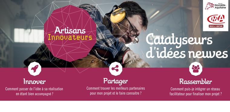 [PROLONGÉ] Artisanat et Innovation : participez à l'appel à projets en Nouvelle-Aquitaine