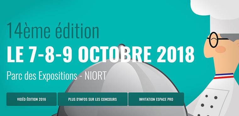 14e édition du Carrefour des métiers de bouche et de la gastronomie à Niort