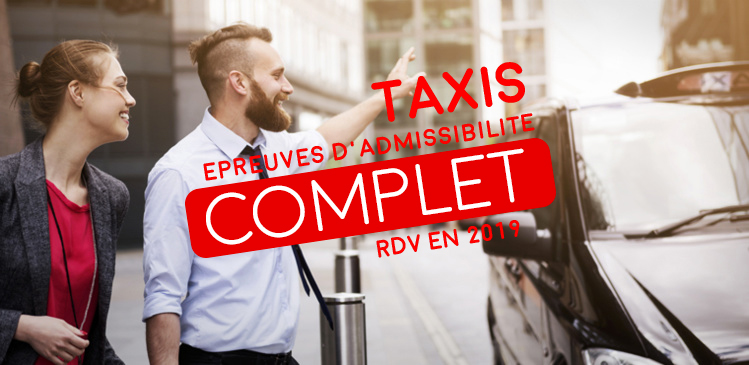 TAXIS-VTC de Nouvelle-Aquitaine : anticipez votre inscription pour 2019