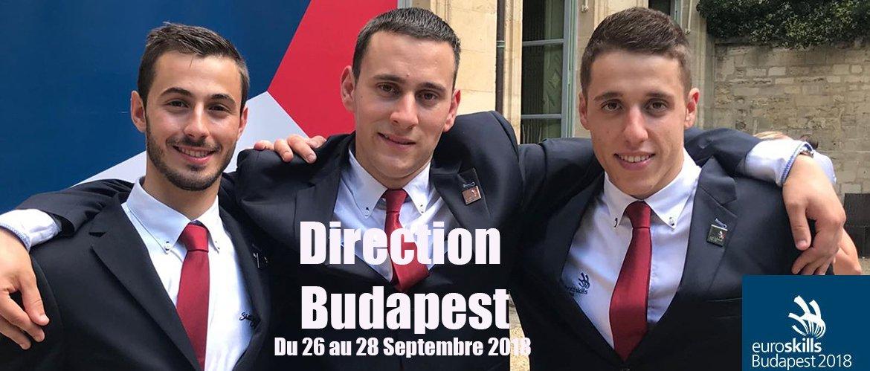 Euroskills 2018 à Budapest... c'est parti !