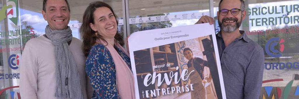 Dordogne. Les futurs entrepreneurs ont maintenant un diplôme universitaire