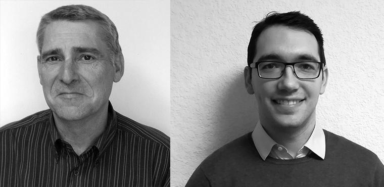 Bruno Fayette (à gauche) et Julien Bouteyre, chargés de développement économique au sein du CNISAM.