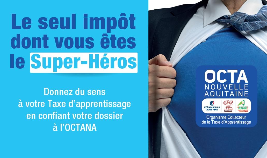 [OCTANA] La campagne de collecte de la taxe d'apprentissage en Nouvelle-Aquitaine est lancée