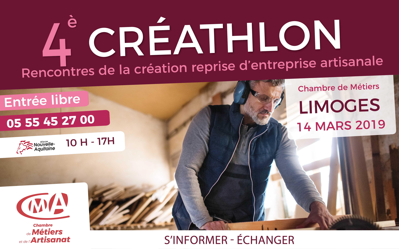 Créateur/ repreneur d'entreprise artisanale : participez au 4e édition du CREATHLON