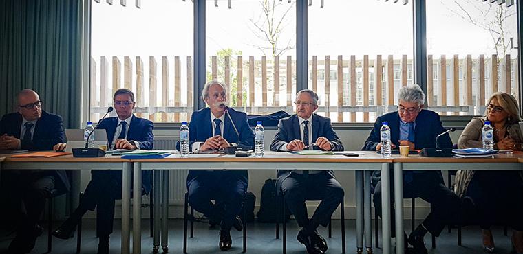 Bernard Stalter, Président de CMA France, rencontre les élus de Nouvelle-Aquitaine