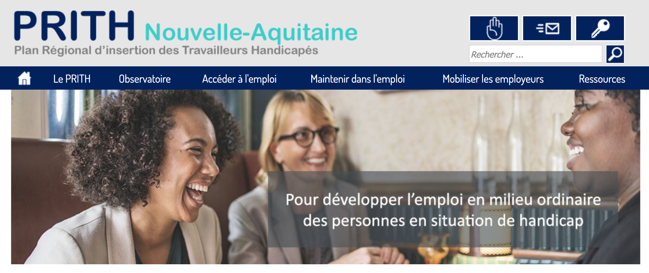 Un nouveau site web pour l'emploi des personnes en situation de handicap