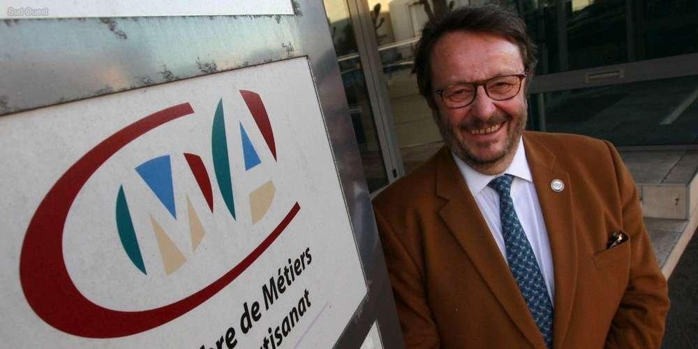 """Marc Vernier a été élu à la tête de la Chambre de métiers et de l'artisanat. ARCHIVES ISABELLE LOUVIER / """"SUD OUEST"""""""