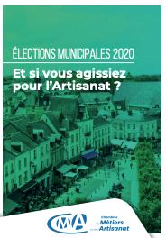 Municipales 2020 : faire de l'artisanat un levier du développement des territoires [#livreblanc]