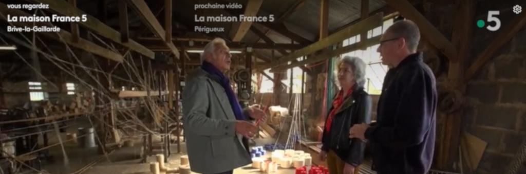 La Maison France 5 : des artisans de Corrèze et de Dordogne à l'honneur