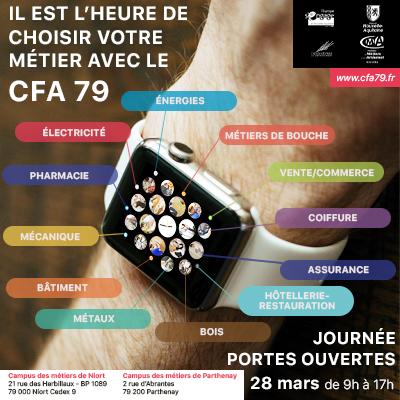 Le CFA de Niort et de Parthenay organise une journée portes ouvertes le 28 mars