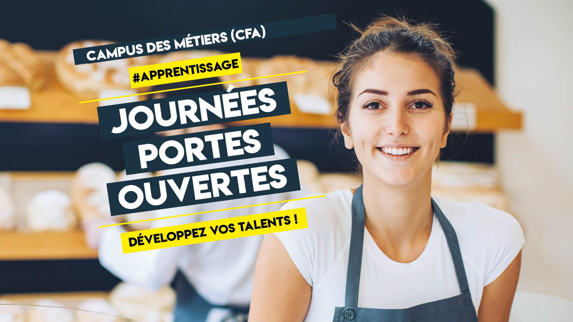 Journées portes ouvertes au Campus des Métiers de Saint-Benoît (86), les 27 et 28 mars 2020