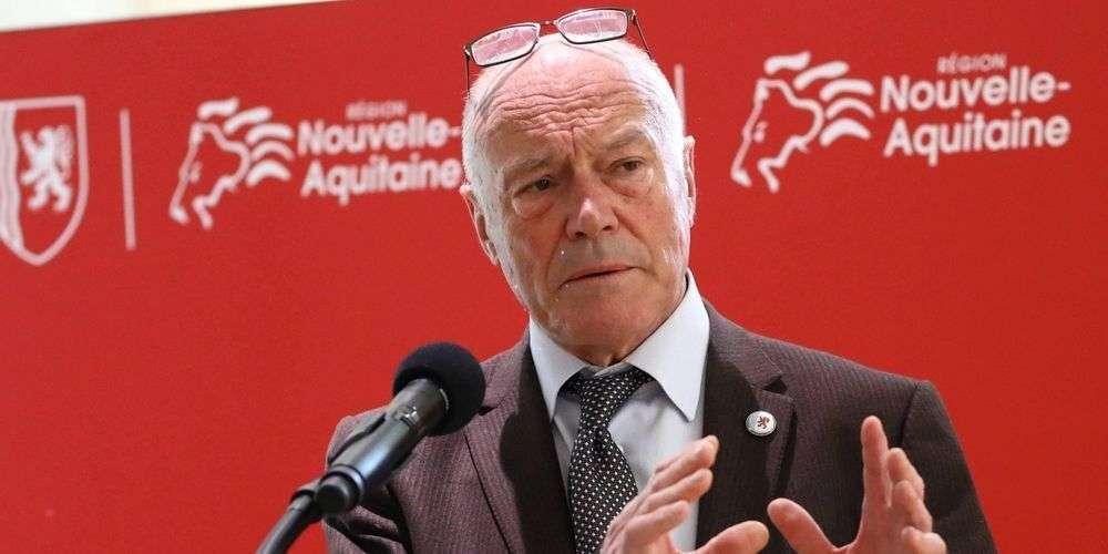 Alain Rousset, le président de la Région Nouvelle-Aquitaine © Crédit photo : Archives Claude Petit