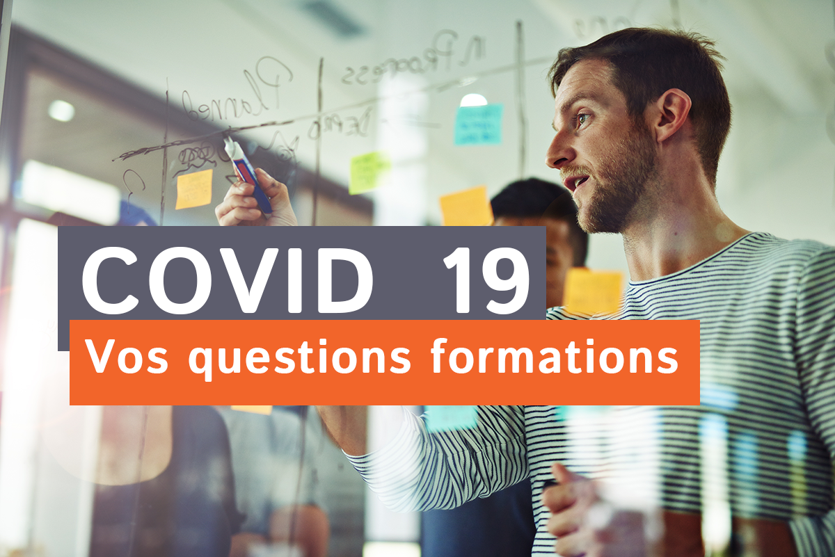 #COVID19 et formation : questions réponses pour les bénéficiaires et organismes de formation