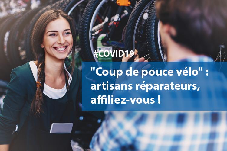 """#COVID19 : """"Coup de pouce #vélo"""" : une opportunité pour les #artisans réparateurs !"""