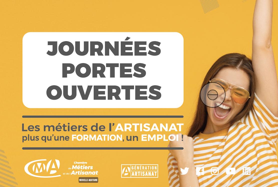 Apprentissage: les CFA de Nouvelle-Aquitaine vous invitent aux journées portes ouvertes!