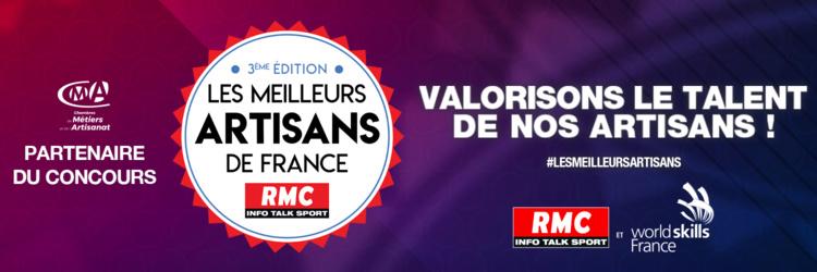 """Report de la grande finale du concours """" Les meilleurs artisans de France"""""""