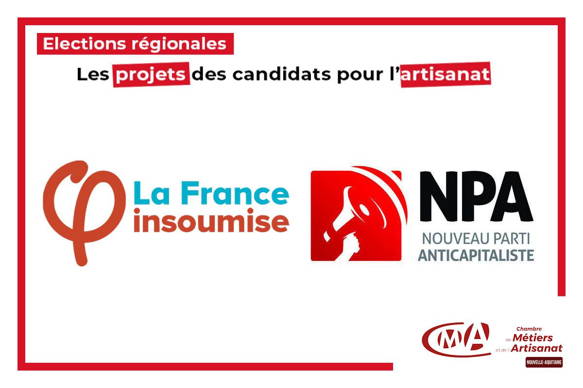 On est là ! : les projets des candidats pour l'artisanat en Nouvelle-Aquitaine