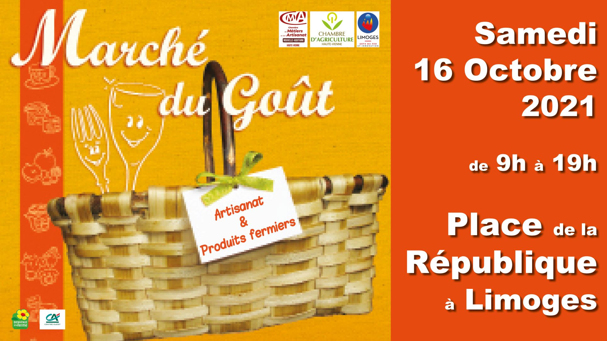 """Le Marché du Goût """" 100% Artisans & Producteurs"""""""
