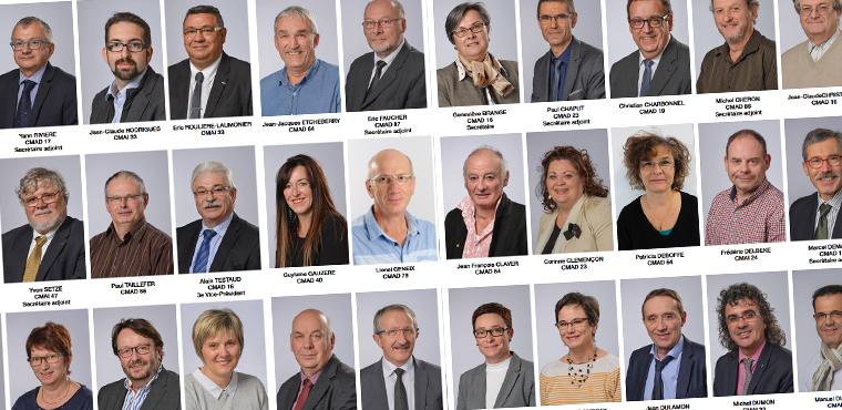 Les élus à la CMA Nouvelle-Aquitaine