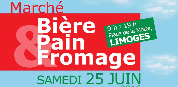"""Le marché """"Bière Pain et Fromage"""" se tiendra le 25 juin"""