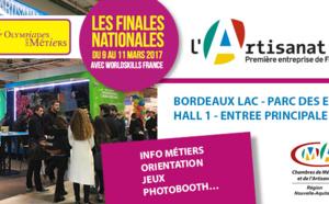 Retrouvez l'artisanat et la CRMA de Nouvelle-Aquitaine aux Olympiades des métiers !