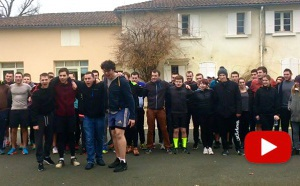 Exclu Olympiades : découvrez le cri de guerre de l'équipe Nouvelle-Aquitaine !