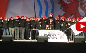 Ouverture des Olympiades : l'équipe de Nouvelle-Aquitaine en grande forme