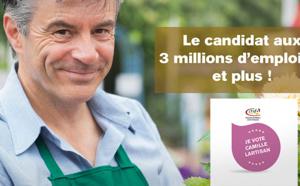 Camille LARTISAN : Le candidat à la présidentielle des CMA !