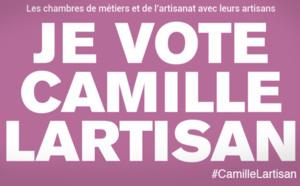 Presse : Les artisans déclarent leur candidat dans la campagne présidentielle : Camille LARTISAN