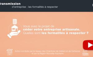 Transmission d'entreprise : Les formalités à respecter (épisode 4) !