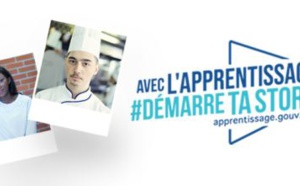 Muriel Pénicaud, Ministre du Travail, lance la campagne d'apprentissage #DémarretaStory