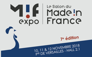 Made in France Expo 2018 : candidatez avant le 13 juillet !