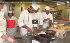 [vidéo] PAC Artisanat : reconversion professionnelle de charpentier... à pâtissier !