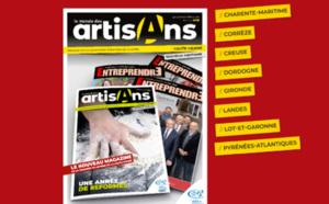 Un nouveau magazine pour l'artisanat en Nouvelle-Aquitaine