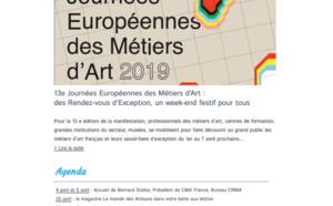 La lettre d'info de l'artisanat en Nouvelle-Aquitaine vient de sortir