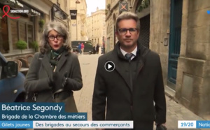 France 3 national : la brigade d'intervention mobile à Bordeaux