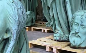Les artisans périgourdins au chevet de la cathédrale Notre-Dame