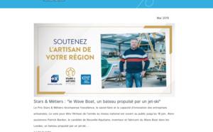 La newsletter de l'#artisanat en Nouvelle-Aquitaine vient de sortir ! [Mai 2019]