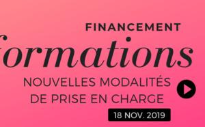 Formations 2019 : nouvelles modalités de prise en charge depuis le 18 novembre 2019