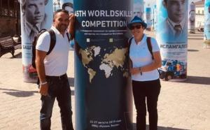 La CMA86 en Russie pour les Olympiades des Métiers
