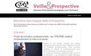"""La dernière newsletter """"Veille et prospective"""" pour l'#artisanat est sortie ! [#1 - Janvier 2020)"""