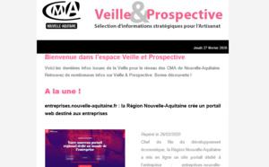 """La newsletter """"Veille et prospective"""" pour l'#artisanat est sortie ! [#2 - Février 2020)"""