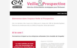 """La newsletter """"Veille et prospective"""" pour l'#artisanat est sortie ! [#1 - Mars 2020)"""