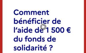 #CORONAVIRUS : Fonds de solidarité pour les petites entreprises