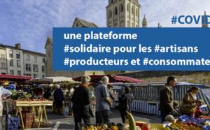 COVID19 : une plateforme #solidaire qui met en relation #artisans, #producteurs locaux et #consommateurs en #NouvelleAquitaine